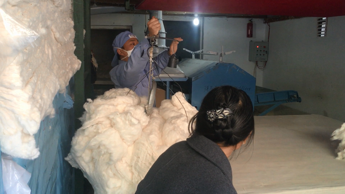 一般不外傳的有網棉被加工工藝