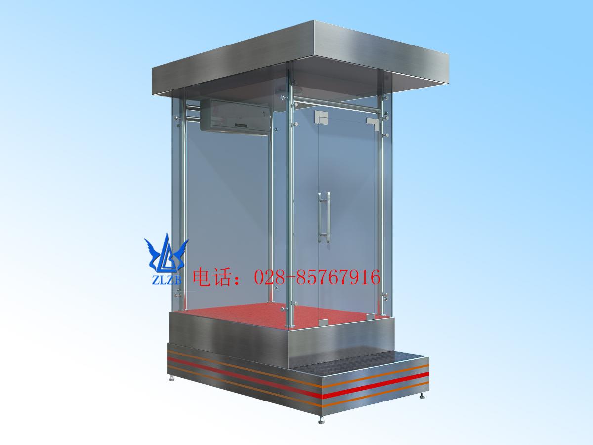 玻璃站台岗亭-BL06