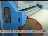 江西客戶開松精細彈花一體機電腦縫被機安裝試機實拍