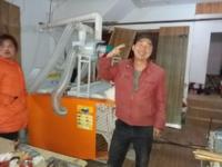 湖北弹花机客户 黄冈明老板全套弹花机安装成功