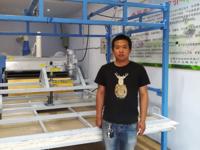 棉被成型揉棉机安装成功试机视频