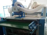 四川巴中平昌元山镇谢老板全套弹棉花机器安装成功