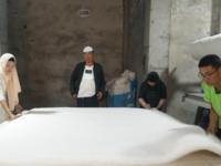 甘肃临夏客户购买羊毛加工设备开办羊毛加工厂